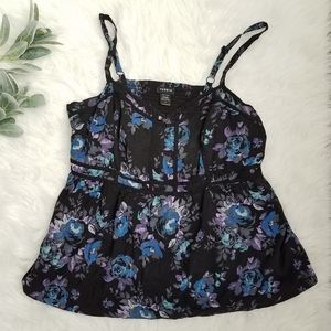TORRID Floral Camisole Top Size 2